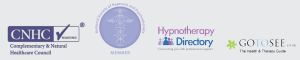 accredited and registered hypnotherapist and psychotherapist